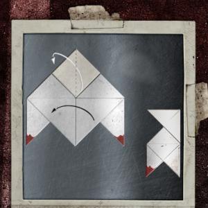 Оригами Heavy Rain парахита