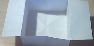 Коробочка оригами для 3-6 летних детей