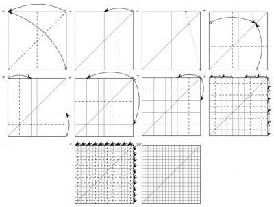 оригами паттерн