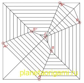 pattern origami