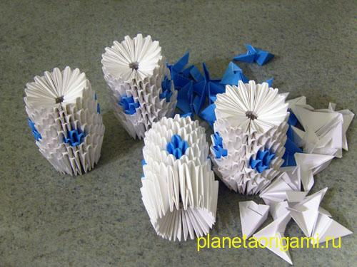 башенки из модулей