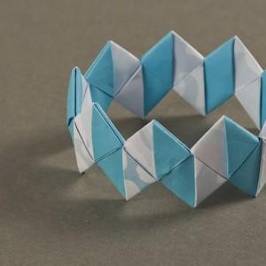 браслет оригами