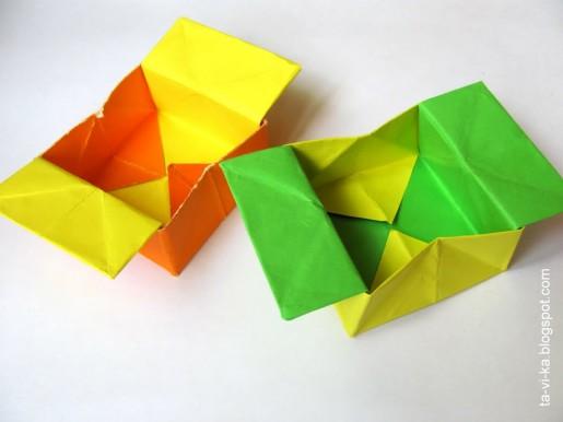 обучение оригами для детей