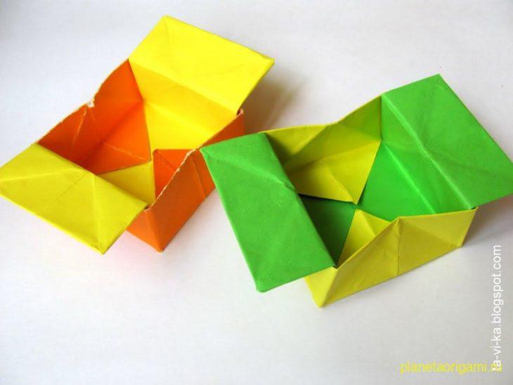 Оригами для маленьких детей схемы