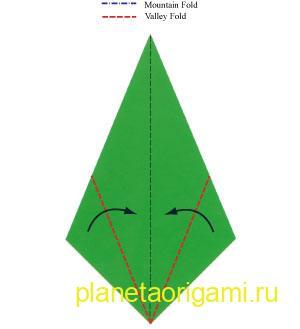 оригами-ель