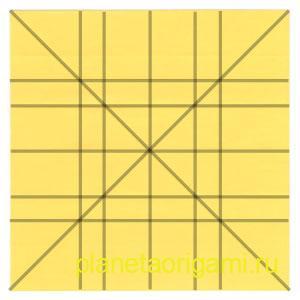 оригами лев 11