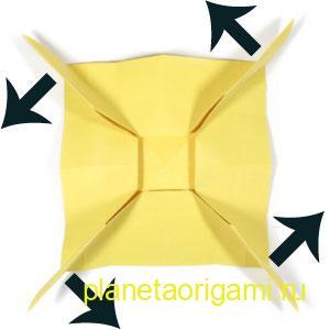 оригами лев 13
