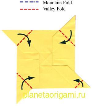 оригами лев 14