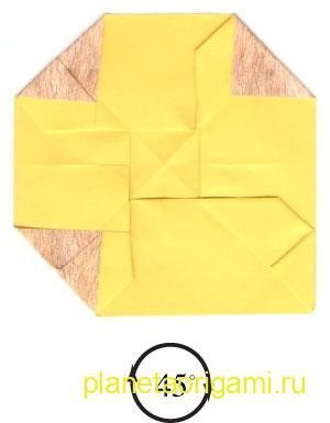 оригами лев 16