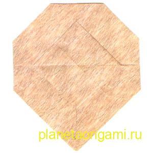 оригами лев 18
