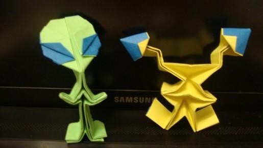 инопланетянин оригами