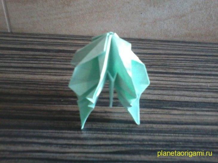 медуза из бумаги
