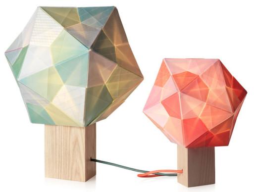 оригами лампы