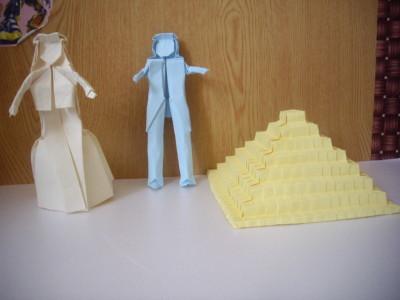 бумажная невеста и жених