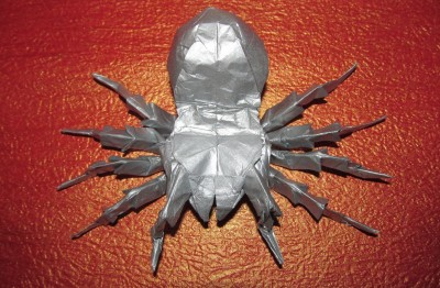 тарантула из бумаги