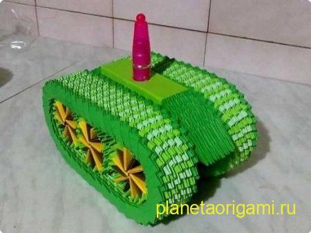 сборка модульного танка