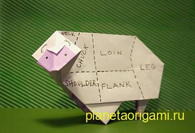 origami-ovca