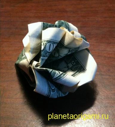 Как сделать букет из денег: пошаговый мастер-класс 75