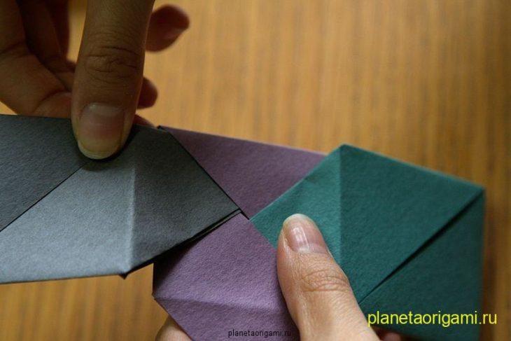Вставляем второй треугольник в другую сторону