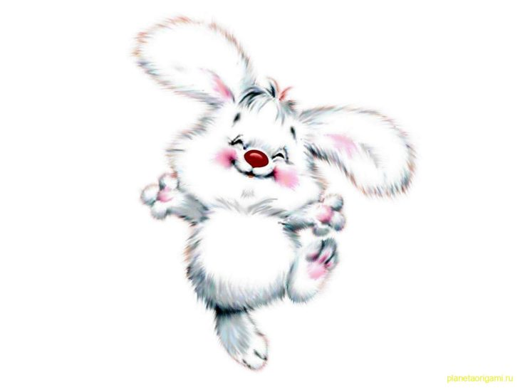Нарисованный заяц