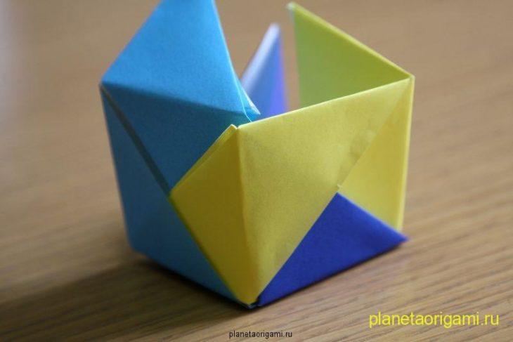 Объёмный куб почти готов