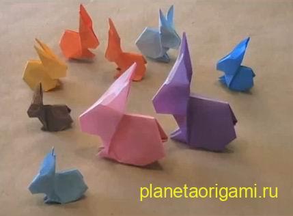 Символ 2011 года — оригами