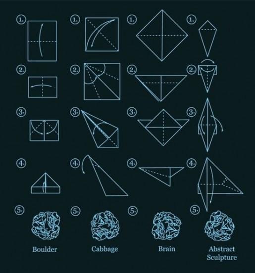 Схемы оригами