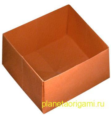 Оригами коробочка в коробочке