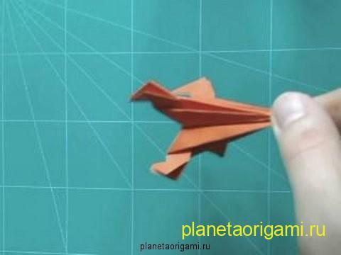 Схема оригами: Ракета - Cхемы оригами.