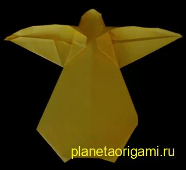 Англел оригами, видео схема.