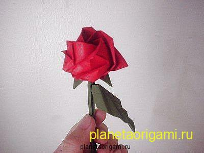 More Picture For how to make origami flowers out of fabric video.
