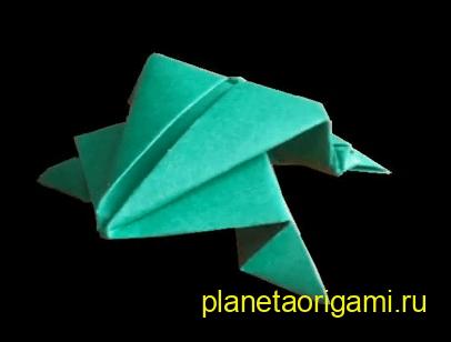 оригами, видео схема