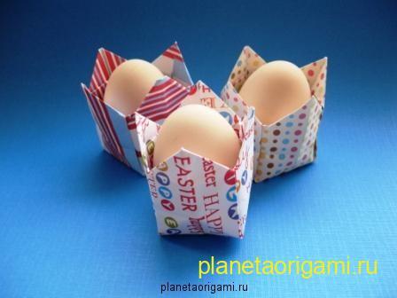 Коробочка под яйцо к пасхе