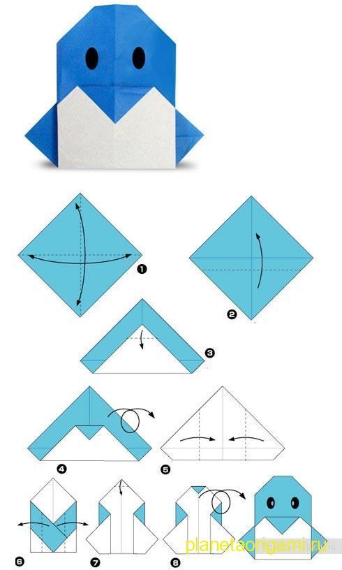оригами — самое простое,
