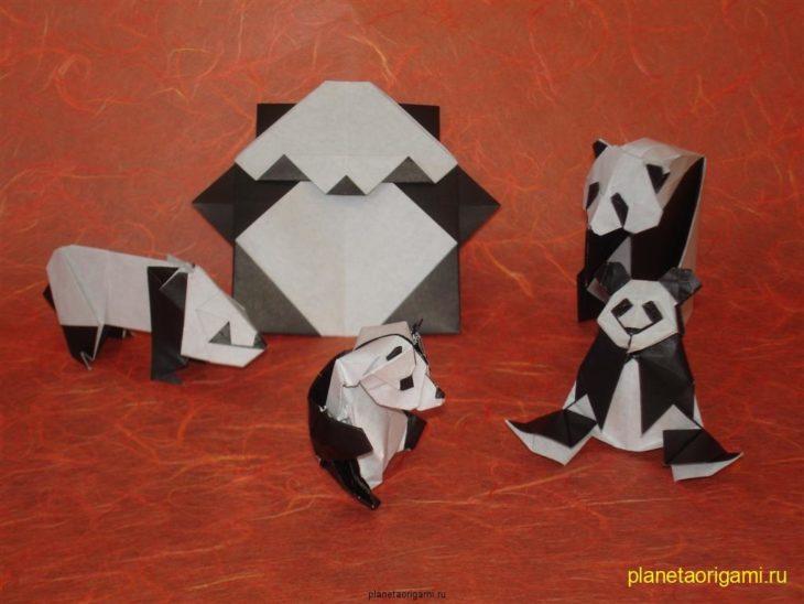 Как сделать панду из бумаги своими руками поэтапно