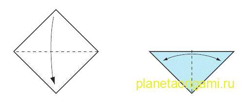 Оригами божья коровка для детей