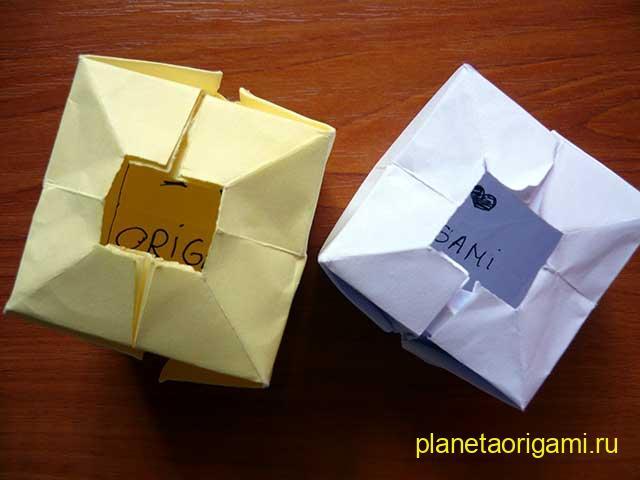 Водяная бомбочка из бумаги с