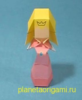 Принцесса из бумаги