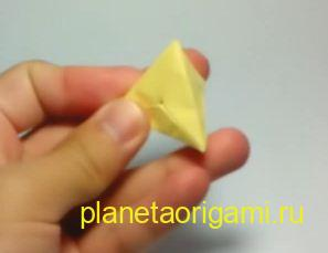Тетраэдр из бумаги