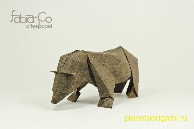 Бурый медведь Эль Осо Пардо (El Oso Pardo)
