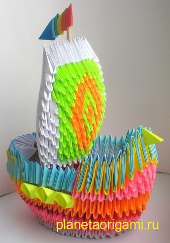 модульный кораблик