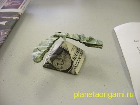 Пирамида из денег своими руками 53
