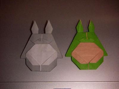 Тоторо оригами