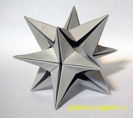 кусудама звезда омеги