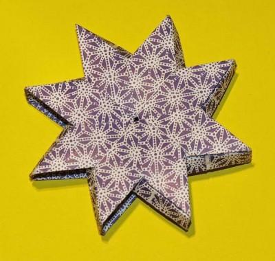 Оригами звезда нории