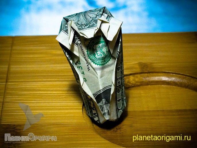 О�игами из денег ко�ка ��ем�
