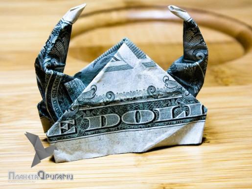 шлем из доллара