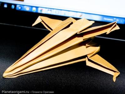 X-Wing оригами