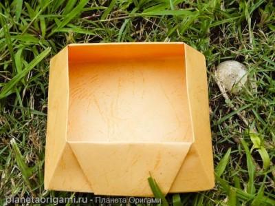 конфетная бумажная коробочка своими руками