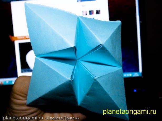 """Детская  """"Гадалка """" из бумаги Планета Оригами."""